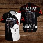 But the Lord stood with me and gave me strength  ALL OVER PRINTED SHIRTS 3d