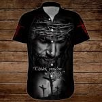'Child, you're worth it' Jesus ALL OVER PRINTED SHIRTS 3d