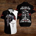 My soul is protected by the armor of Faith ALL OVER PRINTED SHIRTS 3d
