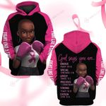God says you are strong Fight like a girl ALL OVER PRINTED SHIRTS DH091206