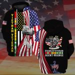 Disabled veteran agent orange ALL OVER PRINTED SHIRTS 3d