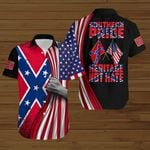 Confederate States Southern Pride Heritage not hate ALL OVER PRINTED SHIRTS DH091505