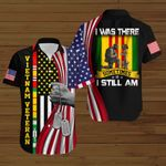 I was there sometimes I still am VNVet ALL OVER PRINTED SHIRTS DH091502