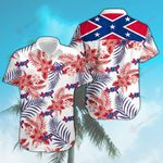 Confederate States flower ALL OVER PRINTED SHIRTS DH091506