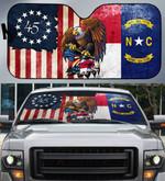 North Carolina Auto Car Sunshade