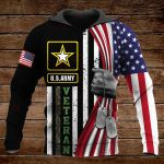 Army Veteran ALL OVER PRINTED SHIRTS