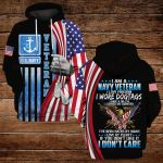 I am a navy veteran I love freedom  ALL OVER PRINTED SHIRTS