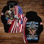 I am an air porce veteran I love freedom ALL OVER PRINTED SHIRTS