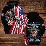I am a coast guard veteran I love freedom ALL OVER PRINTED SHIRTS