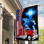 Trucker ALL OVER PRINTED Flag