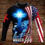 One nation under God ALL OVER PRINTED SHIRTS