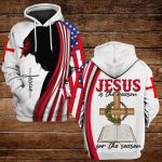 Jesus is the reason for the season ALL OVER PRINTED SHIRTS DH091907