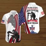 Two kinds of people Jesus for my sins a Soldier for my freedom ALL OVER PRINTED SHIRTS DH091903