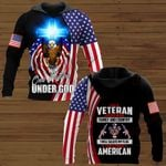 I am a veteran I believe in God family and country  ALL OVER PRINTED SHIRTS