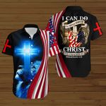 I can do all things through Christ who strengthens me ALL OVER PRINTED SHIRTS DH092201