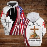 Fall for Jesus He never leaves ALL OVER PRINTED SHIRTS DH092207