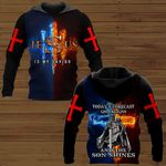 Today's forecast God reigns and the son shines ALL OVER PRINTED SHIRTS DH092504