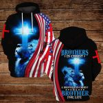 Brothers in Christ a brother in Chirst is a brother for life ALL OVER PRINTED SHIRTS DH092802