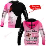 Ain't no man alive that could take my husband's place Personalized name ALL OVER PRINTED SHIRTS DH092913