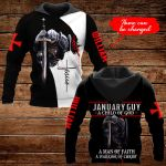 January Guy A Child of God Personalized name ALL OVER PRINTED SHIRTS DH092901