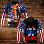 Worn by Force not by Fear  ALL OVER PRINTED SHIRTS