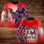 These colors don't run hever have never will ALL OVER PRINTED SHIRTS