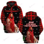 Jesus is the reason for the season ALL OVER PRINTED SHIRTS