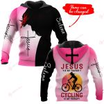 Jesus is my savior Cycling is my therapy personalized ALL OVER PRINTED SHIRTS