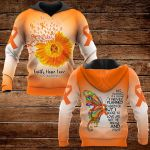 Faith Hope Love MS Awareness ALL OVER PRINTED SHIRTS
