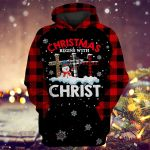 Christmas begin with Christ ALL OVER PRINTED SHIRTS