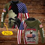 If you haven't risked coming home under a flag then don't dare stand on one personalized name ALL OVER PRINTED SHIRTS