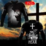 Let your Faith be bigger Fear personalized ALL OVER PRINTED SHIRTS