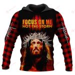 Focus on me Not the storm ALL OVER PRINTED SHIRTS