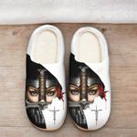Jesus knight woman Slippers ALL OVER PRINTED DH101611