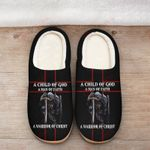 A Child of God a man of Faith Slipper ALL OVER PRINTED SHIRTS DH101612