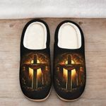 Jesus Christ Cross Slippers ALL OVER PRINTED DH101620