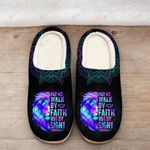 For we walk by Faith Slippers ALL OVER PRINTED 1016206