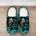 This girl runs on Jesus and horses Slippers ALL OVER PRINTED 1016202