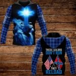 These colors don't run they reload ALL OVER PRINTED SHIRTS PLAID HOODIE