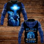 My God's not dead he's surely alive ALL OVER PRINTED SHIRTS PLAID HOODIE