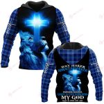 Way maker miracle worker promise keeper light in the darnkness my God that is who you are ALL OVER PRINTED SHIRTS PLAID HOODIE
