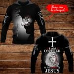 I am covered by the blood of Jesus Personalized name ALL OVER PRINTED SHIRTS 1020202