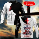Trucker I can do all things through Christ Personalized name ALL OVER PRINTED SHIRTS 21102011
