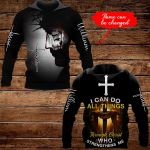 I can do all things through Christ who strengthens me Personalized name ALL OVER PRINTED SHIRTS 1022201