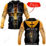 Jesus is my everything Personalized name ALL OVER PRINTED SHIRTS DH102203v2
