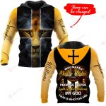 Way maker yellow cross lion Personalized name ALL OVER PRINTED SHIRTS DH102304