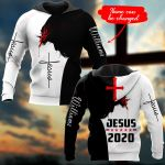 Jesus 2020 Personalized name ALL OVER PRINTED SHIRTS DH102401