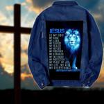 Jesus is my everything Denim Jacket 1024202