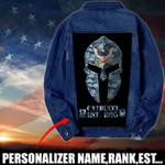 Navy Personalized name Denim Jacket 1024205