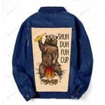 Camping bear Denim Jacket DH102407